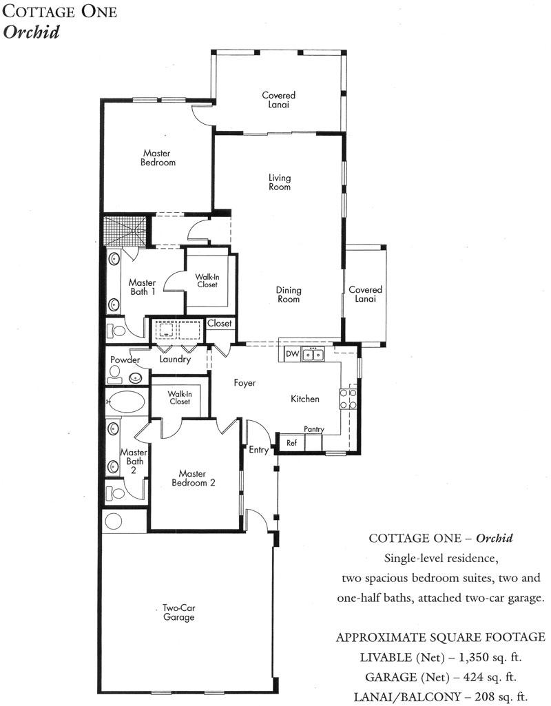 Hawaiian Plantation House Floor Plans