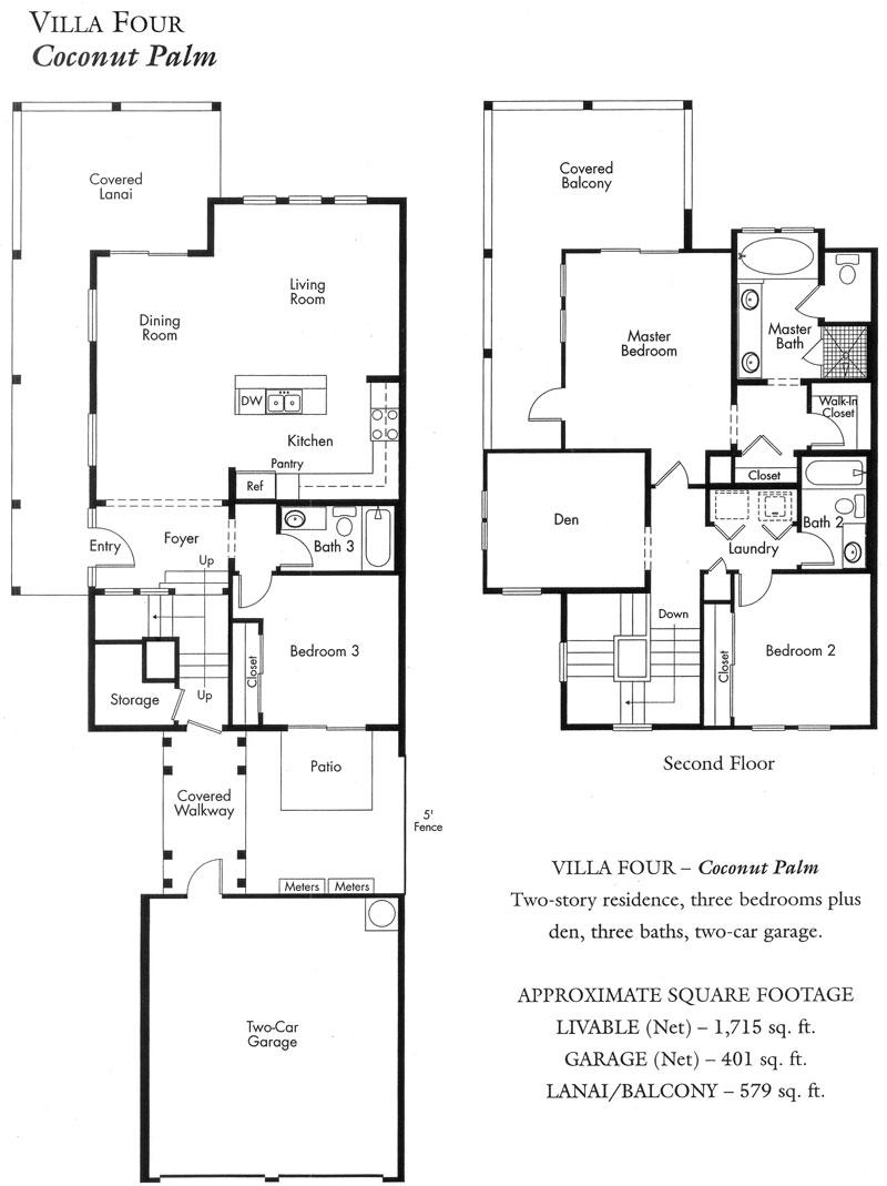 COCONUTPLANTATIONKOOLINA on Co Op City Floor Plans 1 Bedroom