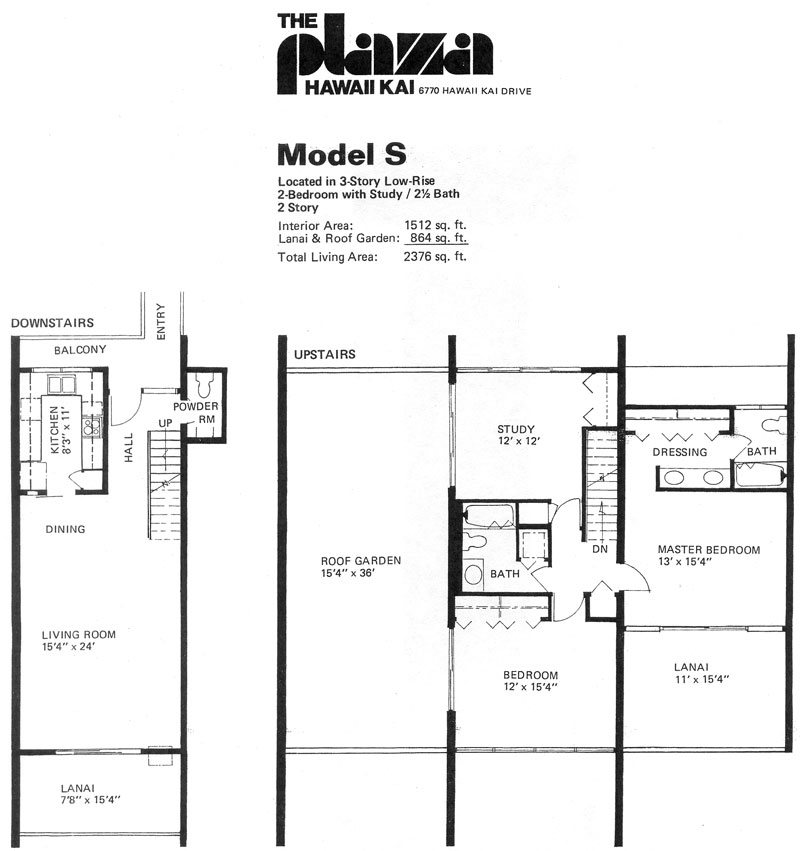 2 story condo floor plans high end two story condo for Two story condo floor plans