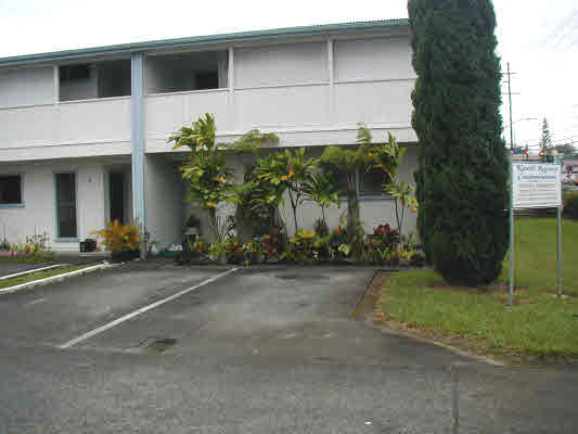 KAWILI REGENCY - Hilo Section of The Big Island of Hawaii, The Hawaii State Condo Guide.com
